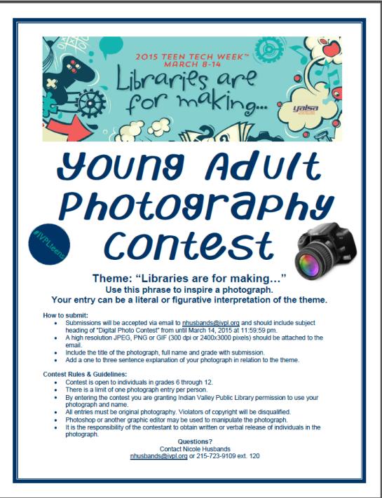 TTW Photo Contest